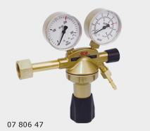 GCE Autogen Redukční ventil Argon DIN + ARC N2 - 2manometry