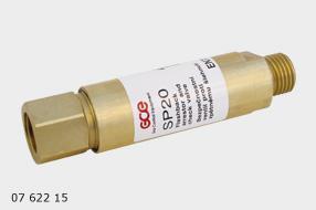 GCE Autogen SP 20  Oxy pojistka proti zpětnému šlehu