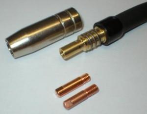Průvlak pro svářecí hořák MIG/MAG - Průvlak pro Al  - průměr 1,0mm M6/8x28 CuCrZr