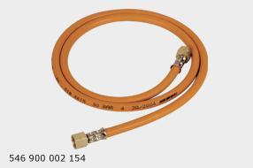 GCE Autogen PB hadice  DN 4   L 2,0 m  koncovka s převleč.maticí  závit G 3/8 LH