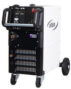 Alfa in ALF 250 AXE MAJOR výkon 40-250A svářečka CO2+hořák, red.v.,kukla,- svařovací poloautomat MIG/MAG + SET